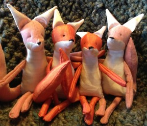 """Good Morning""  said Mr. Ginger Fox and his friends"