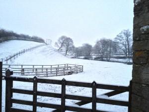 Winterwonderland - behind Gayle Mill