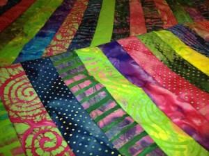 sewn & pressed closeup