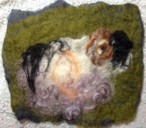 Jane's Ram Felted